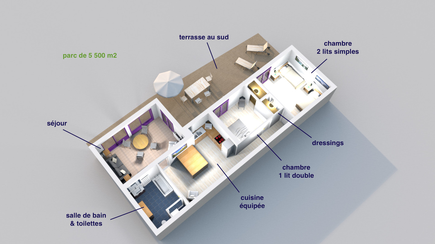 sea view apartment plan